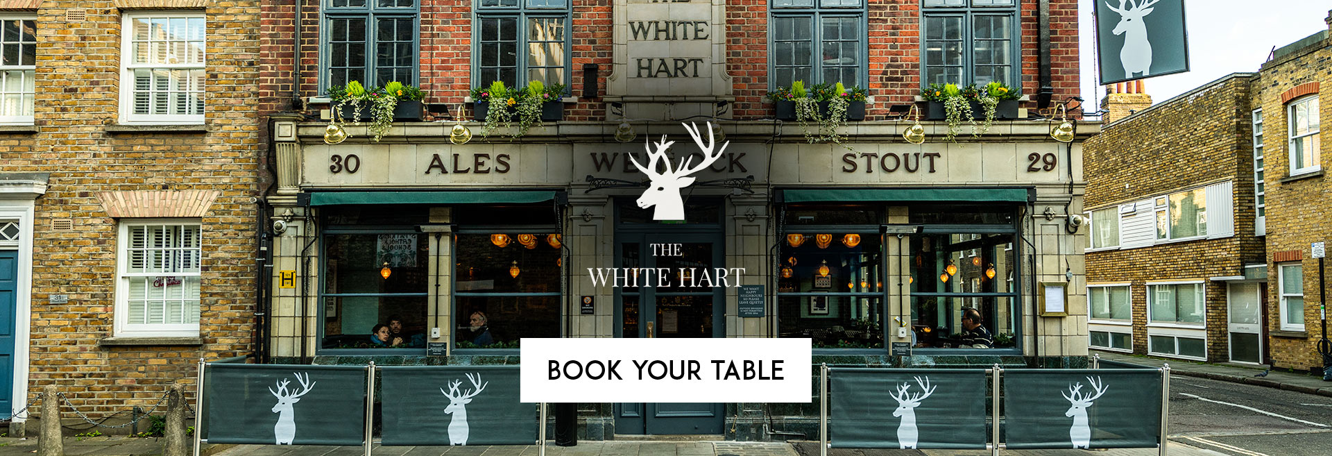 Book Your Table The White Hart